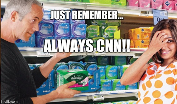 CNN... a Lady's​ BEST Friend | JUST REMEMBER... ALWAYS CNN!! | image tagged in funny,funny memes,memes,gifs,animals | made w/ Imgflip meme maker