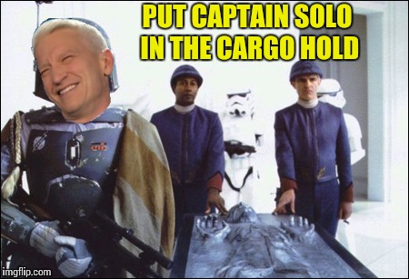 PUT CAPTAIN SOLO IN THE CARGO HOLD | made w/ Imgflip meme maker