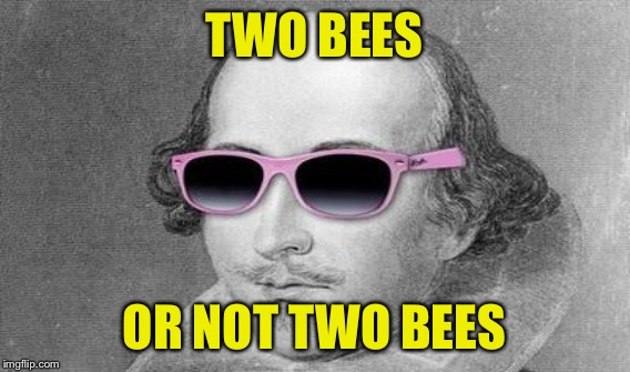 TWO BEES OR NOT TWO BEES | made w/ Imgflip meme maker