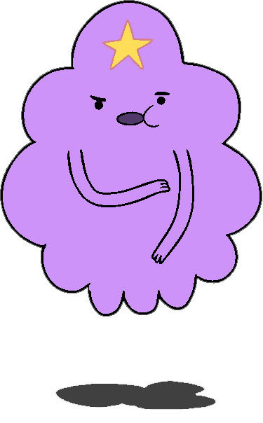 lumpy space princess blank template imgflip