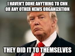 "It isn't Donald Trump destroying the ""news"" organizations, nor his followers. It was only a matter of time.... 
