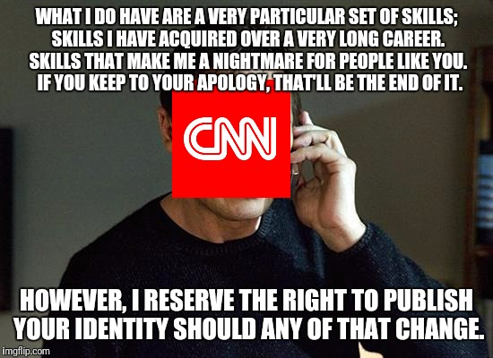 "Blackmail is such an offensive word.  Let's just call it ""Creative Leveraging"". 