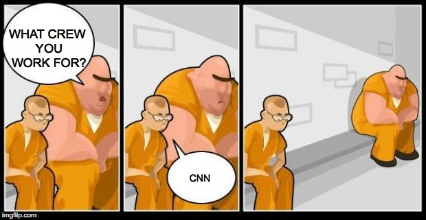 The Wrong Crew | WHAT CREW YOU WORK FOR? CNN | image tagged in cnn | made w/ Imgflip meme maker