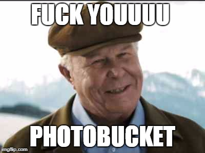 shooter politician | F**K YOUUUU PHOTOBUCKET | image tagged in shooter politician | made w/ Imgflip meme maker
