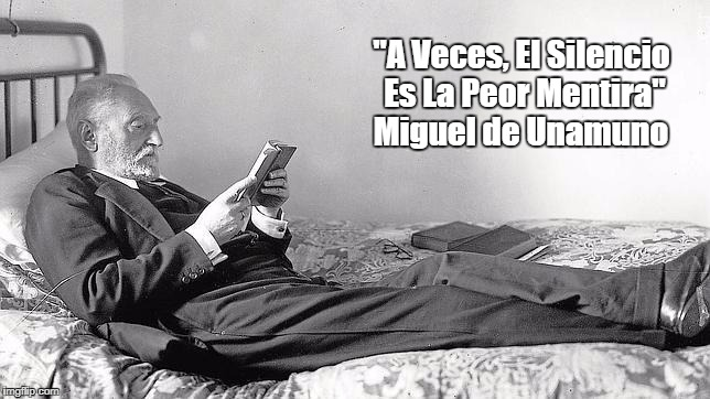 """Miguel De Unamuno On Resistance"" 