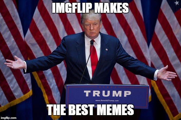 Trump Bruh | IMGFLIP MAKES THE BEST MEMES | image tagged in trump bruh | made w/ Imgflip meme maker