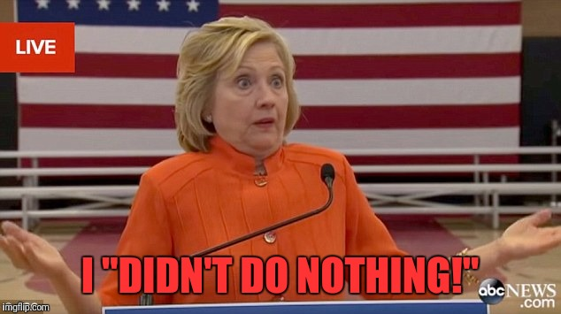 "What, me worry? | I ""DIDN'T DO NOTHING!"" 