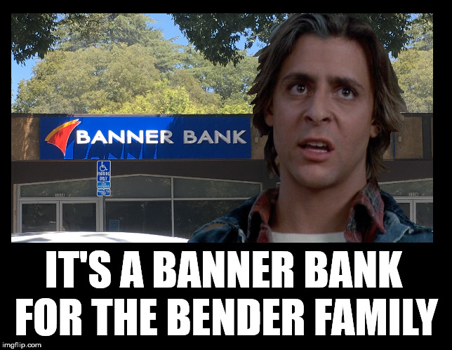 You mess with a bull market, you get the horns | IT'S A BANNER BANK FOR THE BENDER FAMILY | image tagged in breakfast club,banner year,john bender,banking | made w/ Imgflip meme maker