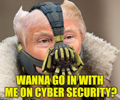 WANNA GO IN WITH ME ON CYBER SECURITY? | made w/ Imgflip meme maker