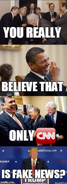 It's all rigged | image tagged in cnn,fox news,msnbc,fake news,laughing men in suits,laughing obama | made w/ Imgflip meme maker