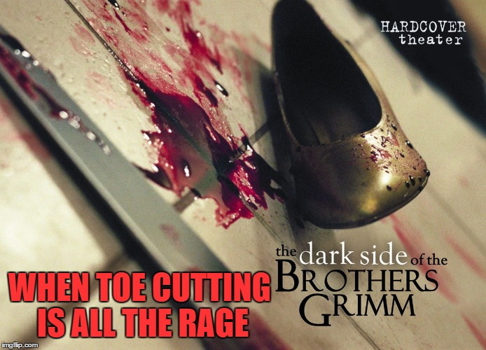 WHEN TOE CUTTING IS ALL THE RAGE | made w/ Imgflip meme maker