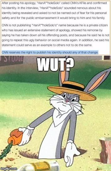 """Bugs """"Wut?"""" Bunny - Imgflip"""