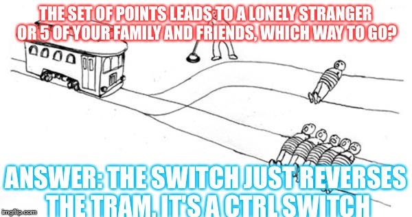 Image Tagged In Trolley Problem Imgflip
