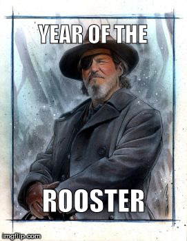 Rooster | YEAR OF THE ROOSTER | image tagged in 4plait | made w/ Imgflip meme maker