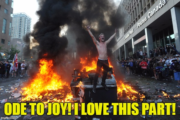 ODE TO JOY! I LOVE THIS PART! | made w/ Imgflip meme maker