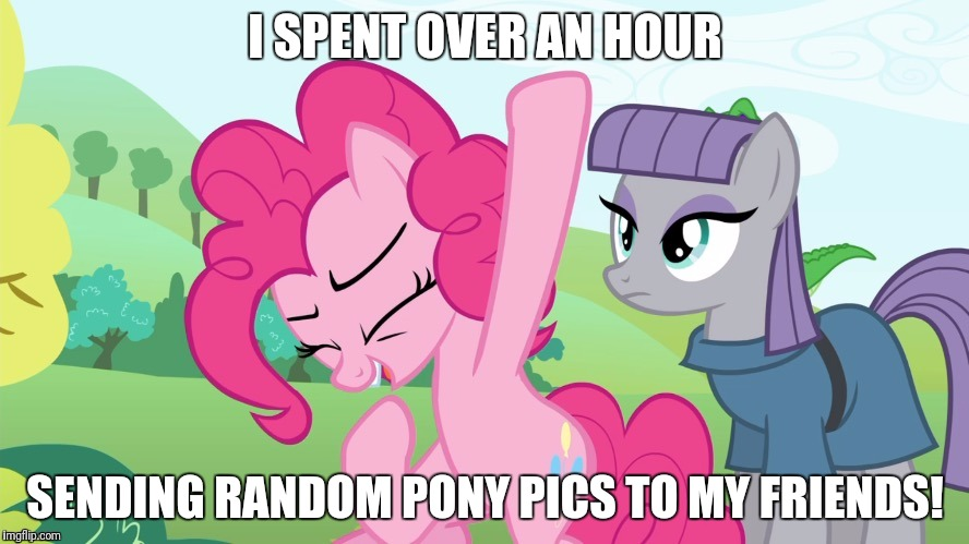 Mostly images from imgflip! | I SPENT OVER AN HOUR SENDING RANDOM PONY PICS TO MY FRIENDS! | image tagged in another picture from,memes,friends,ponies,xanderbrony | made w/ Imgflip meme maker