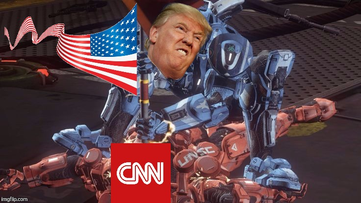 At least 1 of your submissions should be Anti CNN.  No excuses troops! | image tagged in dank memes,donald trump,cnn,fake news,american flag,cuck | made w/ Imgflip meme maker