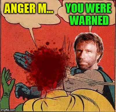 ANGER M... YOU WERE WARNED | made w/ Imgflip meme maker