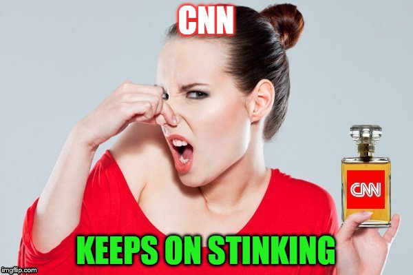 CNN KEEPS ON STINKING | made w/ Imgflip meme maker