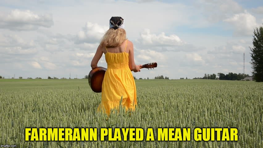 FARMERANN PLAYED A MEAN GUITAR | made w/ Imgflip meme maker