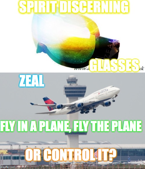 """. . . to another [is given the gift of] dicerning spirits . . ."" —I Corinthians 12:10 