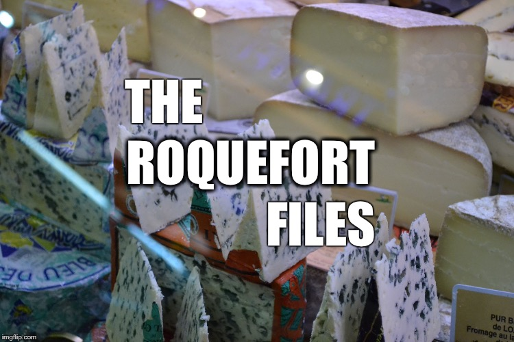 THE ROQUEFORT FILES | image tagged in roquefort | made w/ Imgflip meme maker