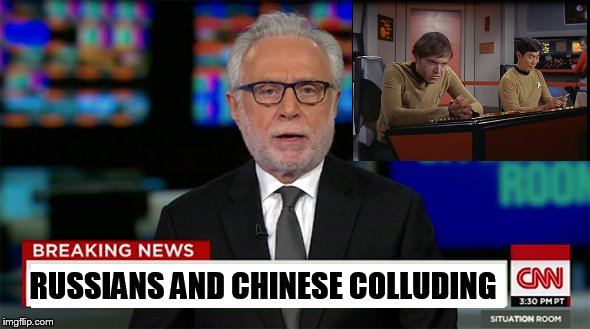 RUSSIANS AND CHINESE COLLUDING | made w/ Imgflip meme maker