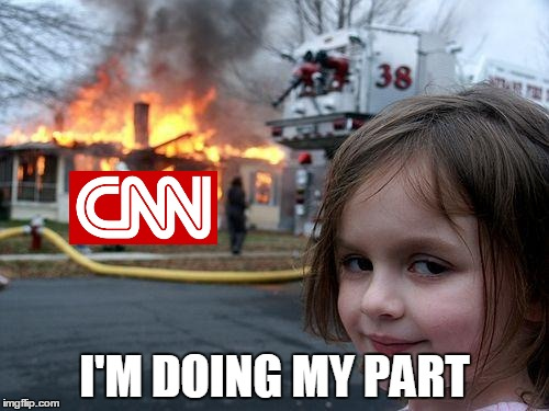 Have you posted a meme mocking CNN on a social media platform today? We should all play our part. | I'M DOING MY PART | image tagged in memes,disaster girl,cnn,cnn vs the internet,anti cnn month,do your part | made w/ Imgflip meme maker