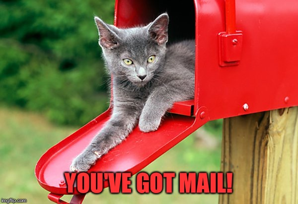 YOU'VE GOT MAIL! | made w/ Imgflip meme maker