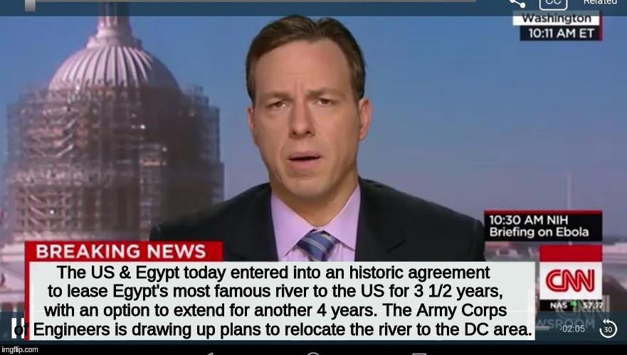 Cnn Breaking News Template Imgflip