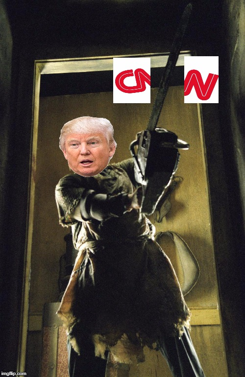 image tagged in donald trump,cnn,cnn blackmail,cnnblackmail,memes | made w/ Imgflip meme maker