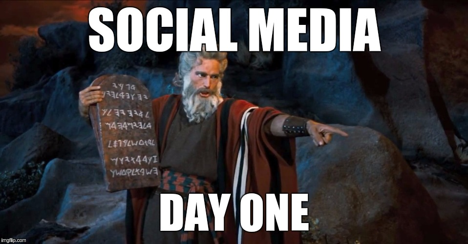 How it all started… | SOCIAL MEDIA DAY ONE | image tagged in rtfm,memes,funny,social media,day one | made w/ Imgflip meme maker