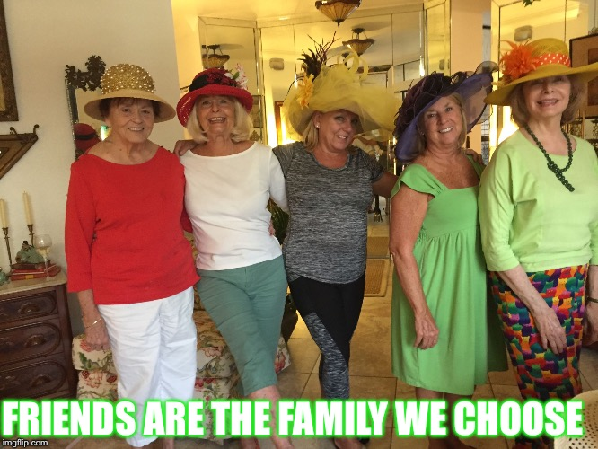 FRIENDS ARE THE FAMILY WE CHOOSE | image tagged in friends - family | made w/ Imgflip meme maker