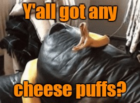 Y'all got any cheese puffs? | made w/ Imgflip meme maker