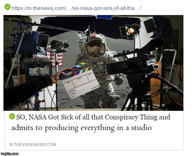 Hollywood Apollo missions | image tagged in nasa,admits,fakery,apollo,missions,studio | made w/ Imgflip meme maker