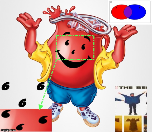 Kool-Aid Symbolism | image tagged in satanic,royalty,purple,numbers,symbolism,russianvids | made w/ Imgflip meme maker