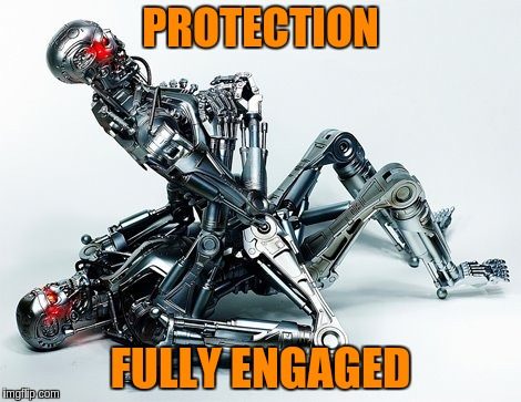 PROTECTION FULLY ENGAGED | made w/ Imgflip meme maker