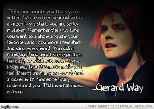 image tagged in gerard way,my chemical romance,music | made w/ Imgflip meme maker