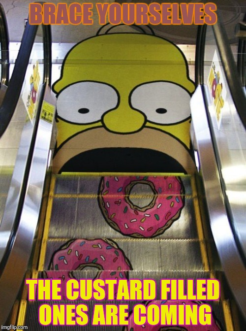 BRACE YOURSELVES THE CUSTARD FILLED ONES ARE COMING | made w/ Imgflip meme maker