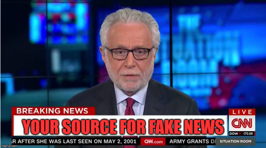 "CNN ""Wolf of Fake News"" Fanfiction 