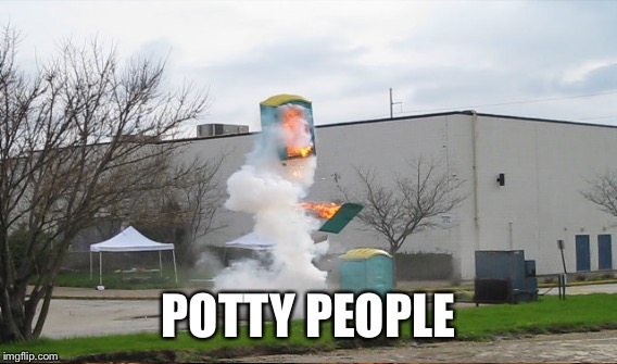 POTTY PEOPLE | made w/ Imgflip meme maker