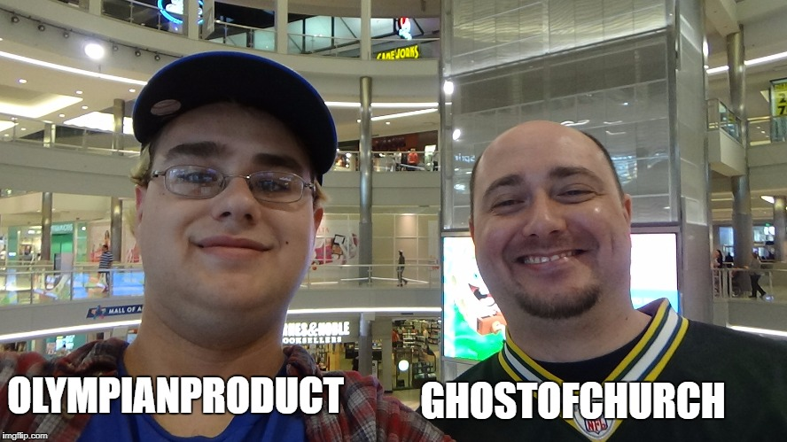 OLYMPIANPRODUCT GHOSTOFCHURCH | made w/ Imgflip meme maker