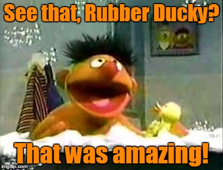 See that, Rubber Ducky? That was amazing! | made w/ Imgflip meme maker