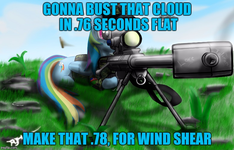 GONNA BUST THAT CLOUD IN .76 SECONDS FLAT MAKE THAT .78, FOR WIND SHEAR | made w/ Imgflip meme maker