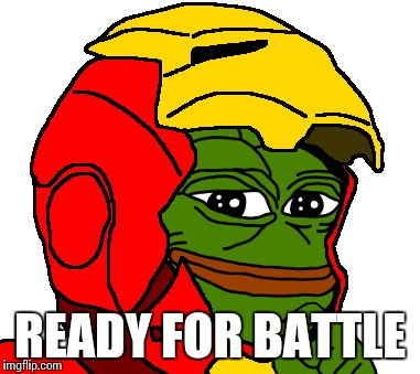 READY FOR BATTLE | made w/ Imgflip meme maker