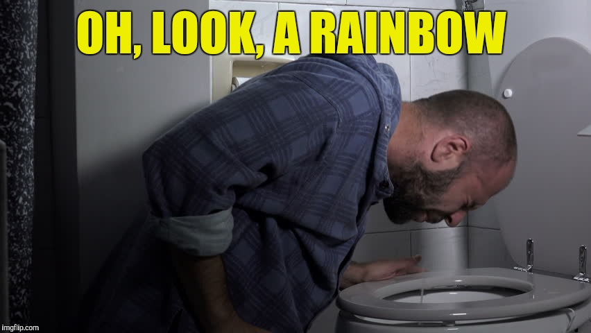 OH, LOOK, A RAINBOW | made w/ Imgflip meme maker