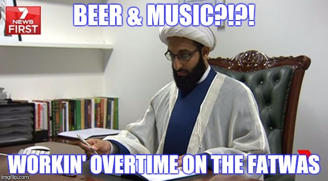 BEER & MUSIC?!?! WORKIN' OVERTIME ON THE FATWAS | made w/ Imgflip meme maker