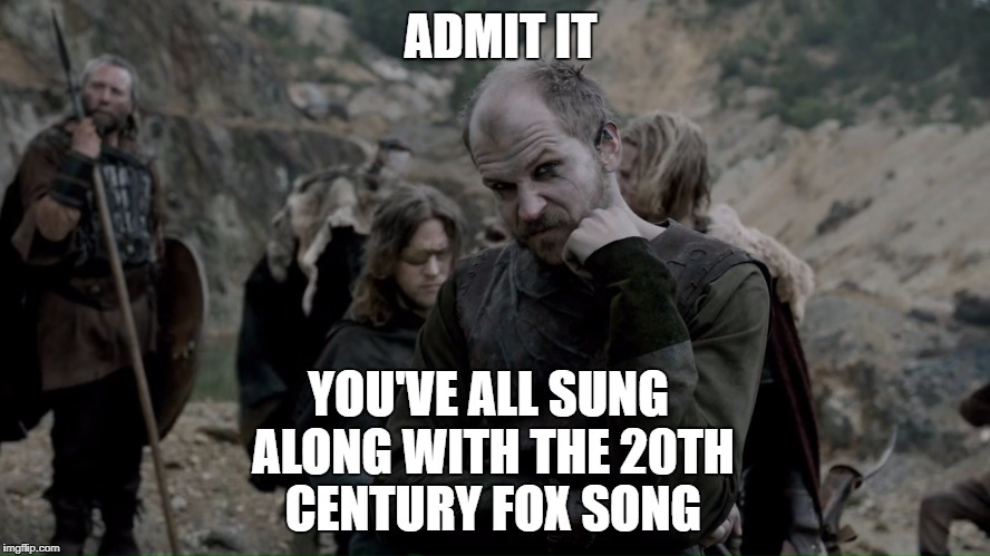 Admit it! | ADMIT IT YOU'VE ALL SUNG ALONG WITH THE 20TH CENTURY FOX SONG | image tagged in admit it,memes,20th century technology,song | made w/ Imgflip meme maker