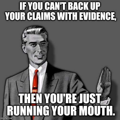 """Positive claims require positive evidence."" - Carl Sagan 