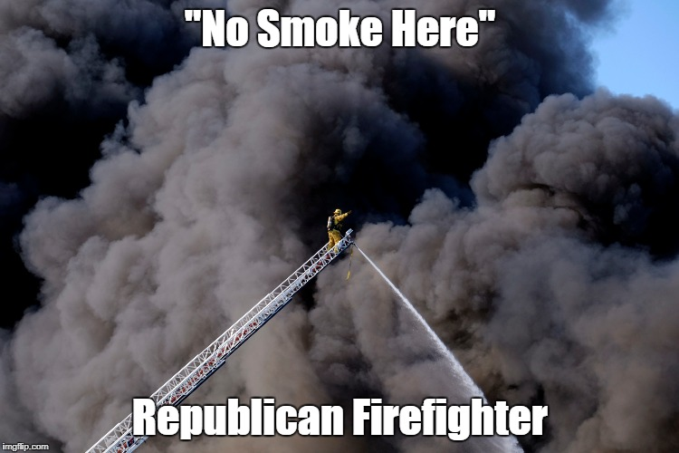"""No Smoke Here"" Republican Firefighter 